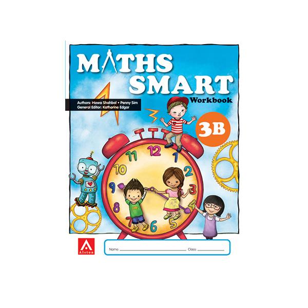 Maths SMART Workbook 3B