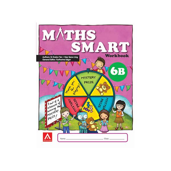 Maths SMART Workbook 6B
